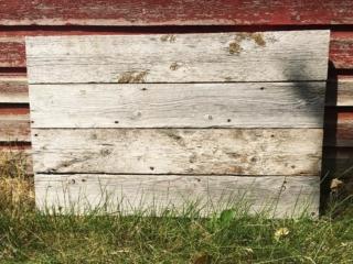 Reclaimed barnwood boards