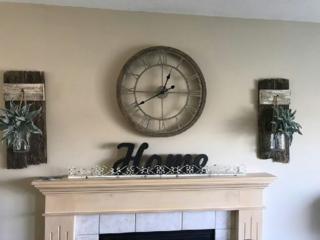 Reclaimed barnwood home decor